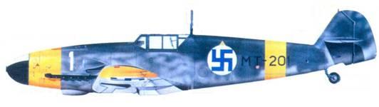 Bf.109G-2 майора Эйно Луукканена, июнь 1943г