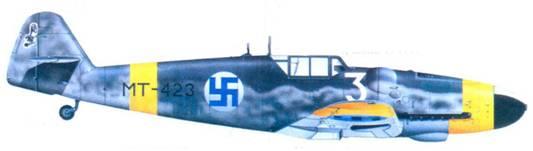 Bf. 10I9G-6 стафф-сержанта Хеммо Лейно, июнь 1944г.