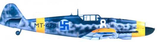 Bf.109G-6 мастер-сержанта Антти Гани, июль 1944г.