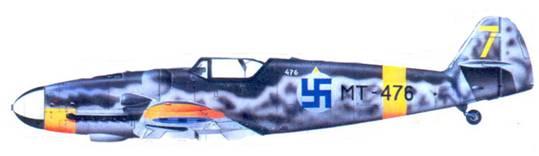 Bf. 1090G-6 мастер — сержанта Нильса Катаяйнена. июль 1944г.