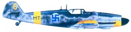 Bf.109G-6/R-6 1-го лейтенанта Киюсти Кархилы, июль 1944г.