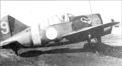 Заместитель командира 3/LeLv-24 1-й лейтенант Пекка Кокко осенью 1941г. являлся одним из самых результативных летчиков-истребителей ВВС Финляндии, на его счету числилось 13,5 побед. На Брюстере с бортовым кодом «В1У-379» он летал более года; в носовой части фюзеляжа заметно написанное черной краской имя летчика — «РЕККА». 24 ноября 1941г. Кокко получил назначение летчиком-испытателем, он погиб 19 февраля 1944г. в результате авиакатастрофы.