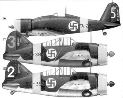 16.Фоккер D.XXI (c/n IV/12) FR-129/ «красная 1» командира 2/LeLv-30 капитана Вайкко Кару, Суулаярчи, ноябрь 1941г.