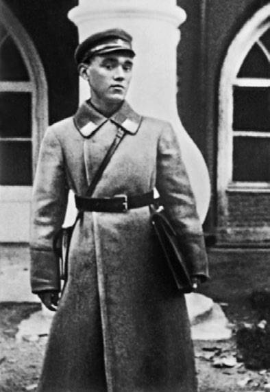 А.С. Яковлев – слушатель Военно-воздушной академии