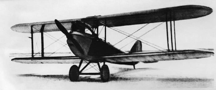Первый самолет конструктора – авиетка АИР-1. 1927г.