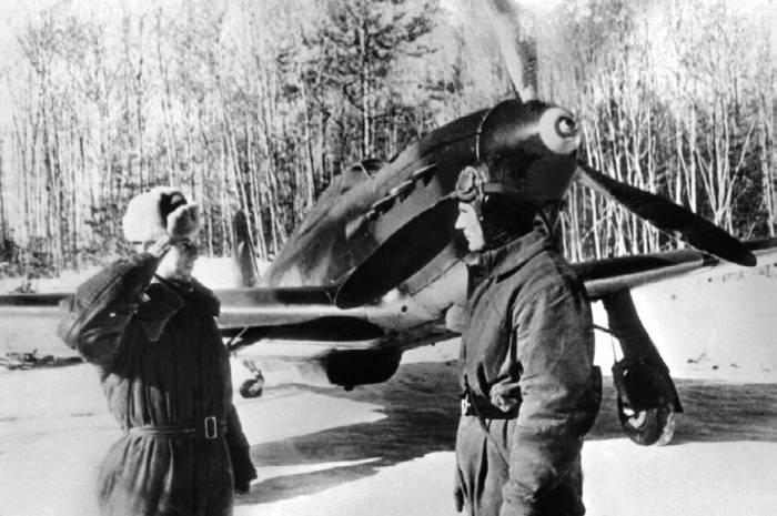 Доклад техника о готовности Як-1 к вылету