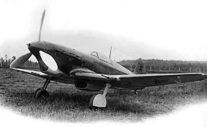 И-28 (Як-3) с двигателем М-105П, июнь 1941г.