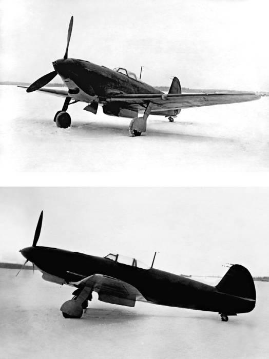 Як-9 с мотором М-106-1ск и винтом ВИШ-61П. Госиспытания, октябрь 1942 года
