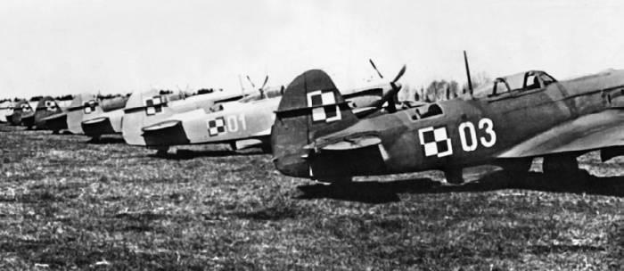 Як-9П ВВС Польши