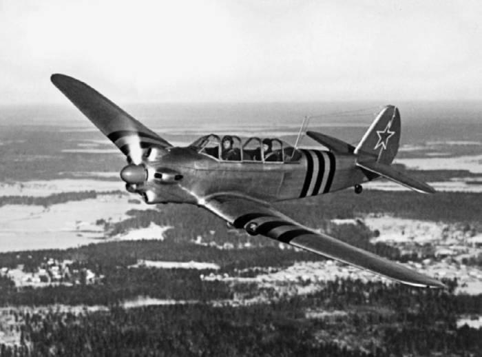 Як-18 с двигателем М-11ФР