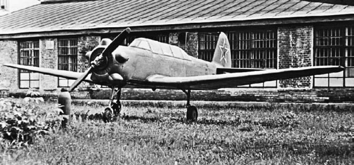 Яу-18У – экспонат Монинского музея ВВС