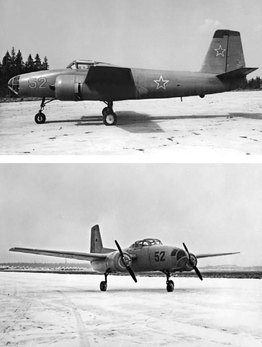 Учебно-тренировочный самолет Як-200 для подготовки летного состава бомбардировочной авиации