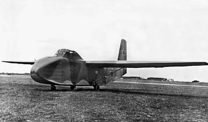 Транспортный планер Як-14