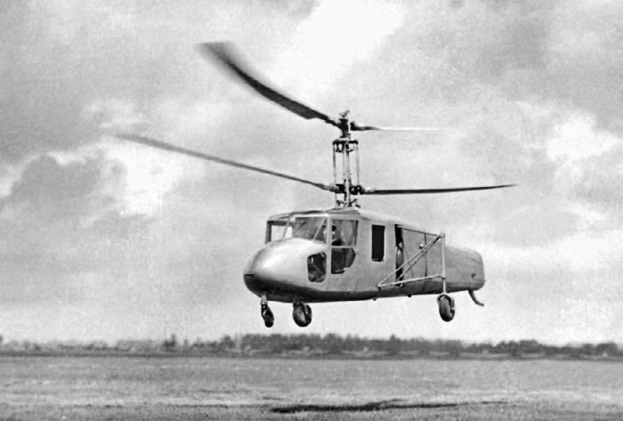 Первой винтокрылой машиной, созданной в ОКБ-115, стал вертолет соосной схемы «Ш»