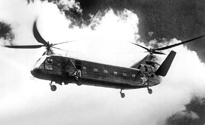 Опытный экземпляр Як-24 грузоподъемностью 4 тонны