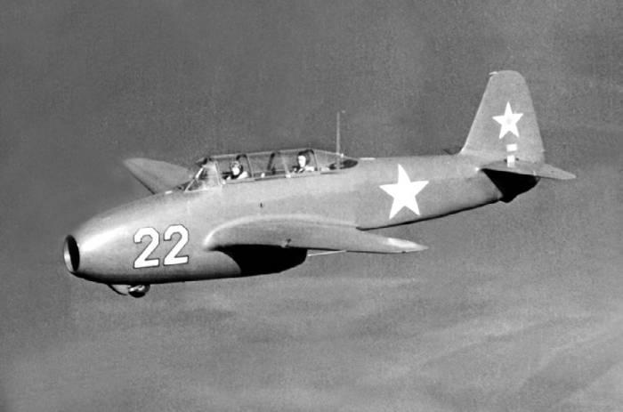 Як-17УТИ в полете