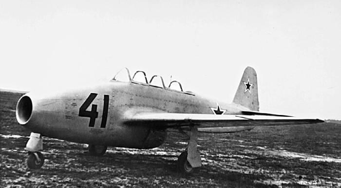 Як-17УТИ стал первой реактивной «школьной партой» советских летчиков