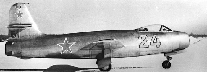 Як-19 на испытаниях