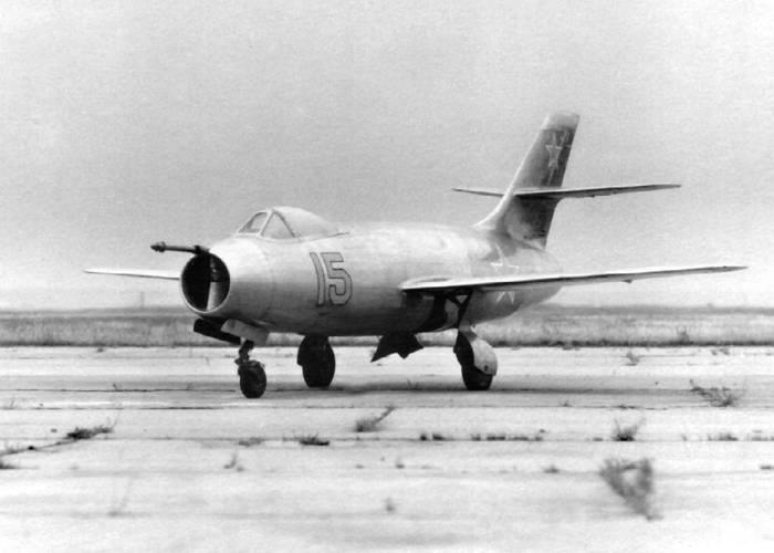 Як-25 с гарпуном
