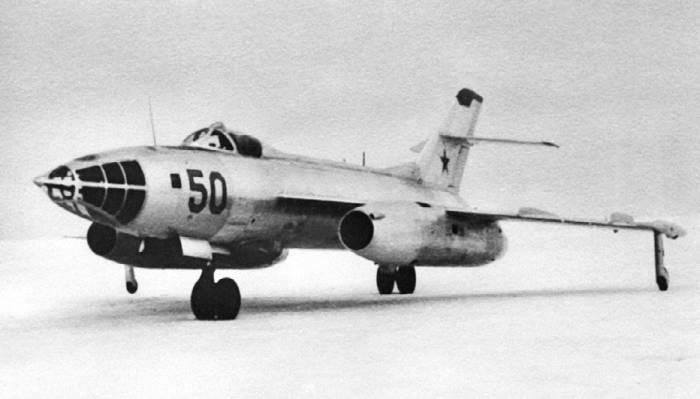 Сверхзвуковой бомбардировщик Як-26