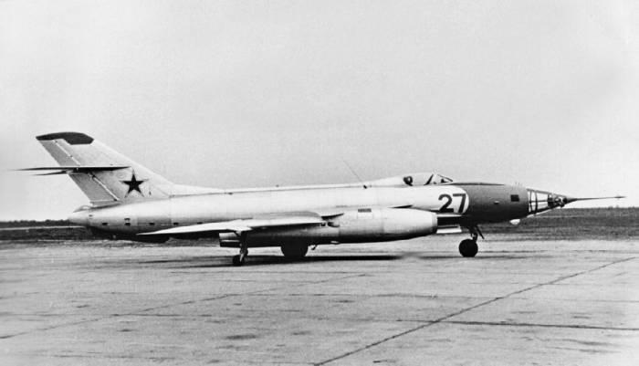 Як-27Р на контрольных испытаниях, 1959 год