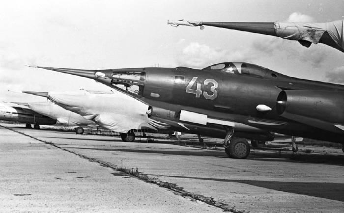 Линейка самолетов Як-28