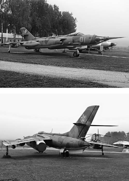 Як-28ПП в экспозиции Минского музея авиации (аэродром Боровое)