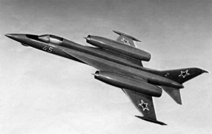 Таким виделся конструкторам ОКБ А.С. Яковлева истребитель 4-го поколения Як-45И