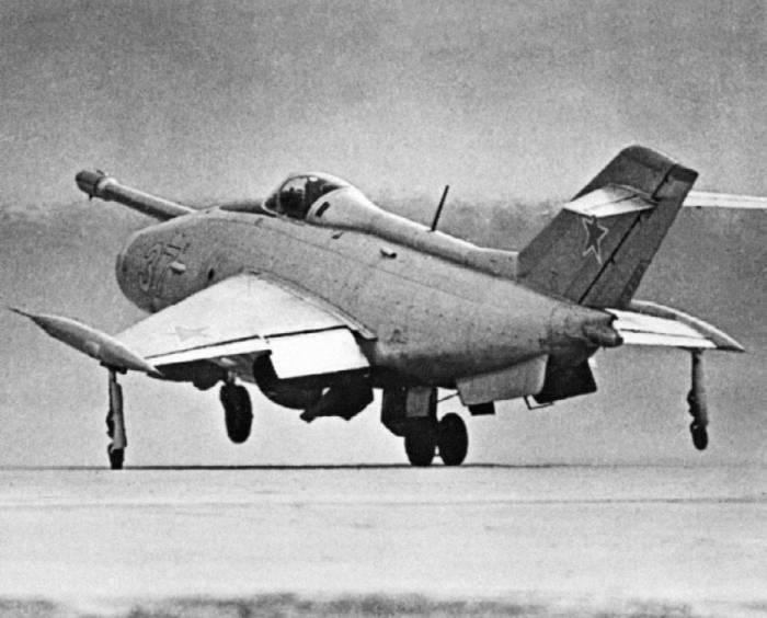 Посадка Як-36