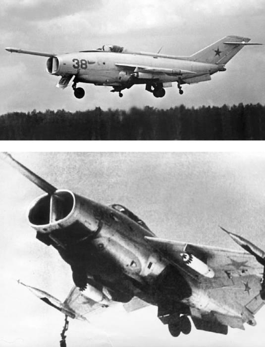 Як-36 на режиме висения