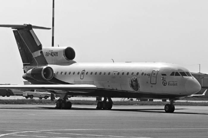 Як-42Д авиакомпании RusJet