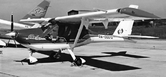Як-112, преемник самолета Як-12, так и остался в опытном экземпляре
