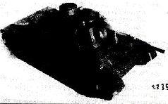 Деревянная модель танка Т-34М (А-43), 1941 г.