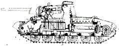 Сравнение силуэтов танков Т-34 и Т-34М (А-43).