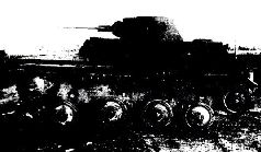 Танк Т-60 (030), общий вид. Осень, 1941 г.