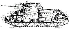 Корма танка Т-34, 1941 г.