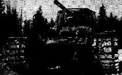 Танк КВ-1 с литой башней и корпусом завода № 200. Лето, 1942 г.