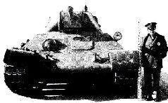 Танк Т-34 на Абердинском полигоне, вид сзади, 1942 г.
