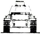 Деревянная модель танка Т-34М. Начало 1942 г.