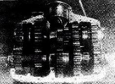 Танк Т-34-5 (Т-34-С) на испытаниях. 1942 г.