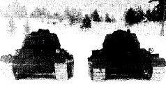Опытный образец танка Т-43 на испытаниях. Зима 1942/43 гг.