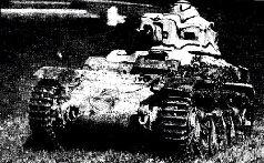 """Французские танки """"Форж и Шантье"""" (FCM-36) на параде 1938 г."""