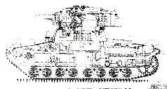 Компоновка танка 126-2, проект 1940 г.