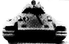 Вид сзади танка А-34 № 1, 1940 г.