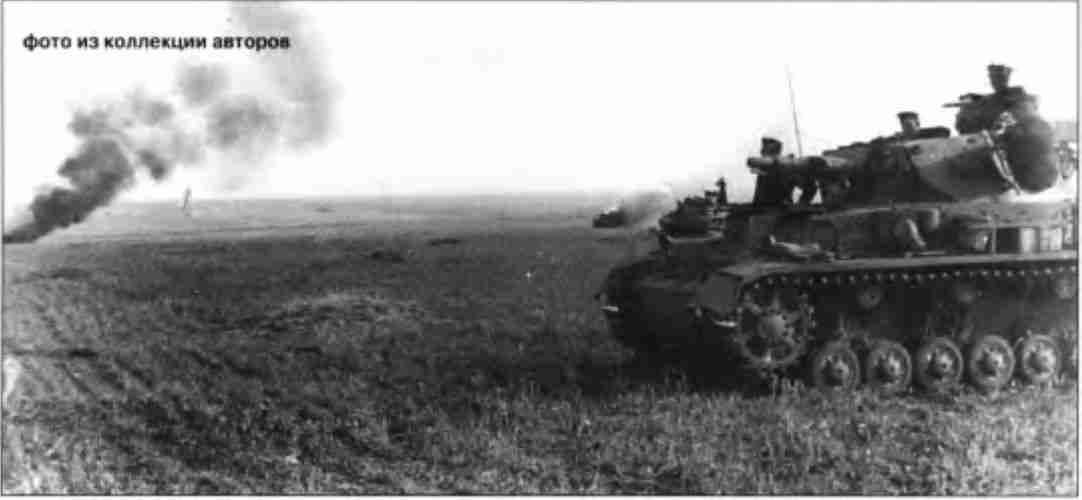 Командирский танк PzKpfw IV Ausf F в бою. Орловское напр.