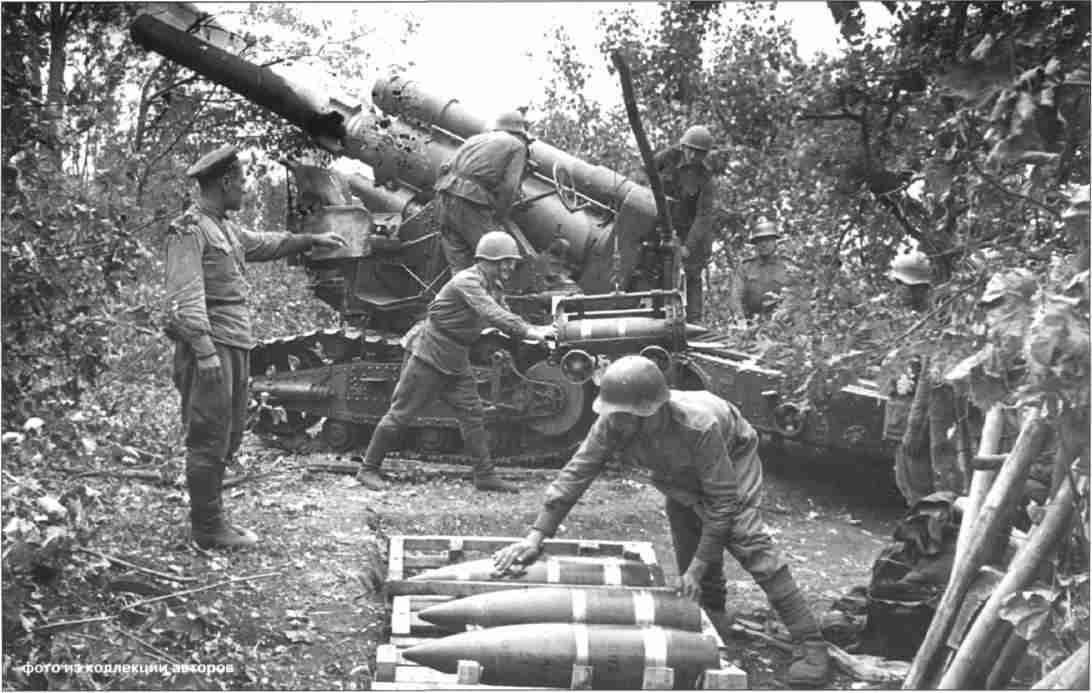 Артиллерийская дивизия особого назначения ген. Игнатьева при отражении немецкого наступления на ст. Поныри. Июль, 1943г.