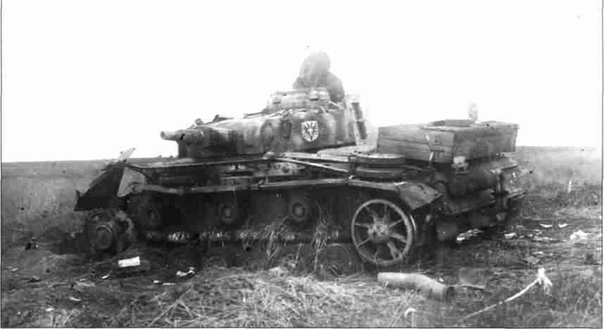 Танк поддержки PzKpfw III Ausf N, вооружённый короткоствольным 75-мм орудием (Фото из коллекции авторов).