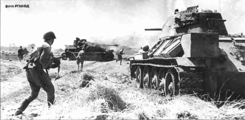 Контратака советских войск.