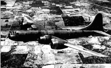 ТВ-29 с базы Рандолф. Техас, конец 40-х годов. ТВ-29 использовались для подготовки экипажей.