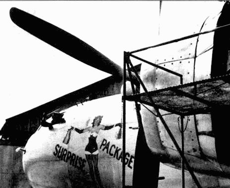 WB-29 «Surprise Package» из 512-й метеоразведывательной эскадрильи, операция «Buzzard», Северная Корея, 29 июня 1950 года.